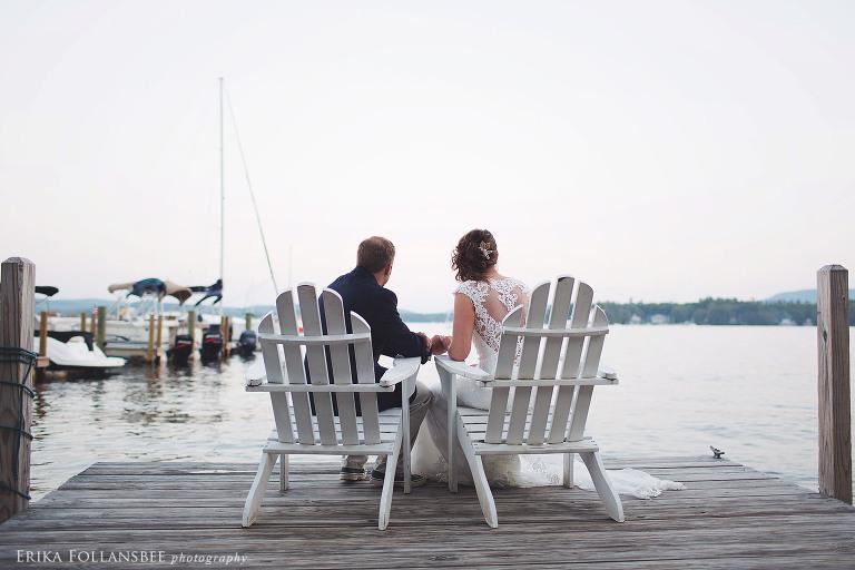 wolfeboro inn adirondack chairs on dock