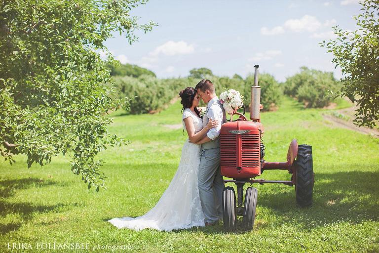 NH rustic wedding photos lull farm