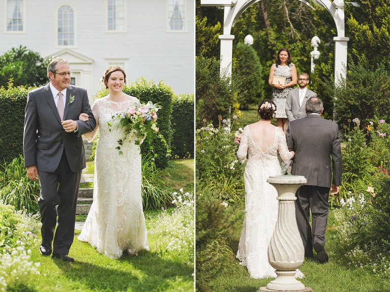hamilton house garden wedding ceremony (1)