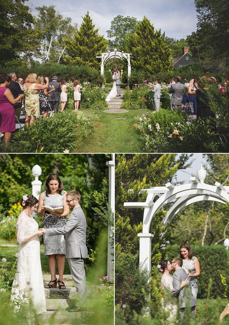 Hamilton gardens wedding