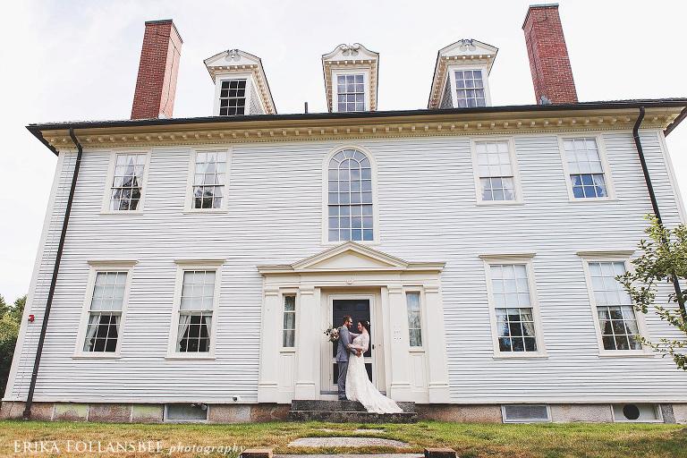 Hamilton house maine wedding