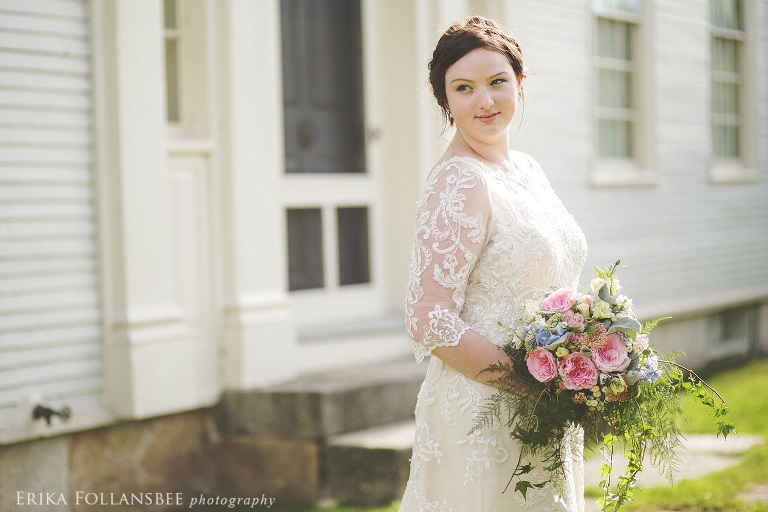 hamilton house maine bridal portraits