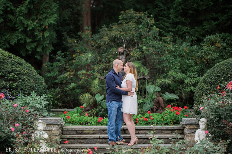 fuller gardens engagement photos