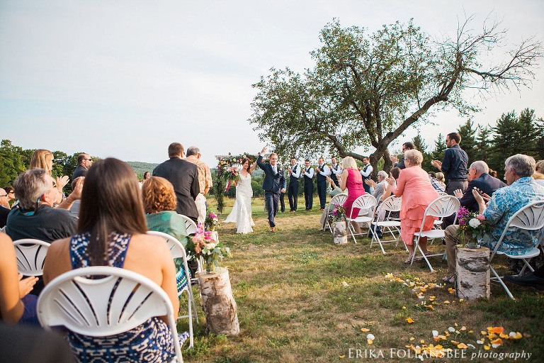 Sam & Myles are married!