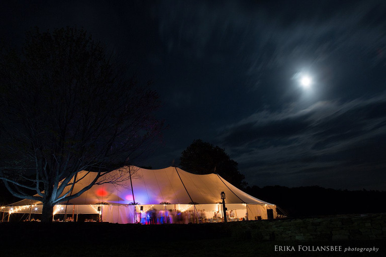 Sam and Myles were married under the August sturgeon moon: The Supermoon
