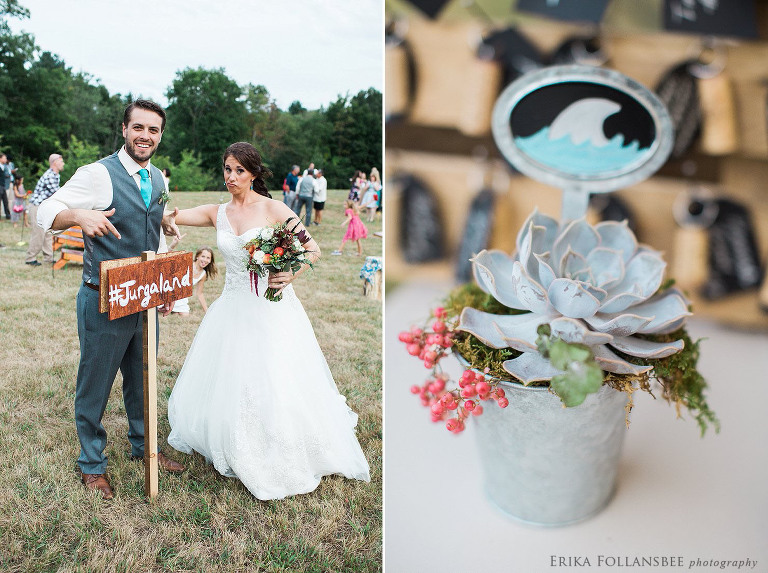 Shark themed wedding reception | Shirley, MA