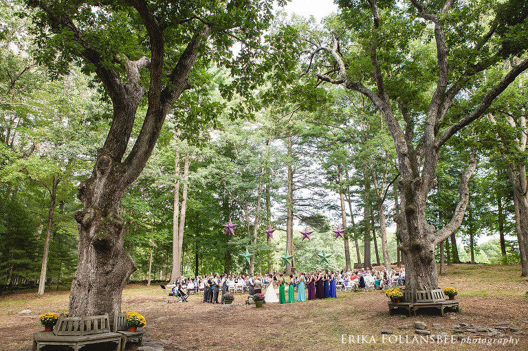 Holdenwood wedding ceremony | Shirley, MA
