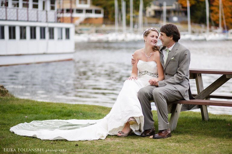 Dexter's Inn October Wedding | Sunapee, NH