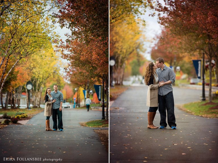 Merrimack College Engagment Photos | NH Wedding Photographer