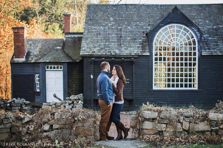 Hamilton House Engagement Portraits | South Berwick, ME