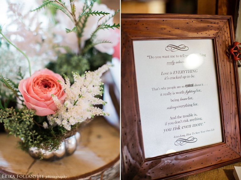 tumbledown farm rustic NH wedding | Lotus Floral Design