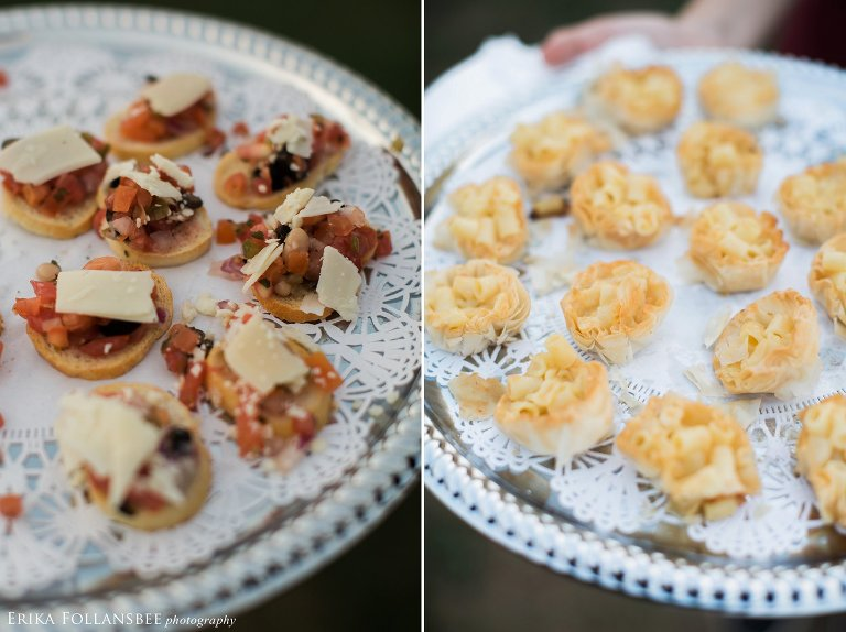 Appetizers by Chill Catering | Seacoast Science Center wedding