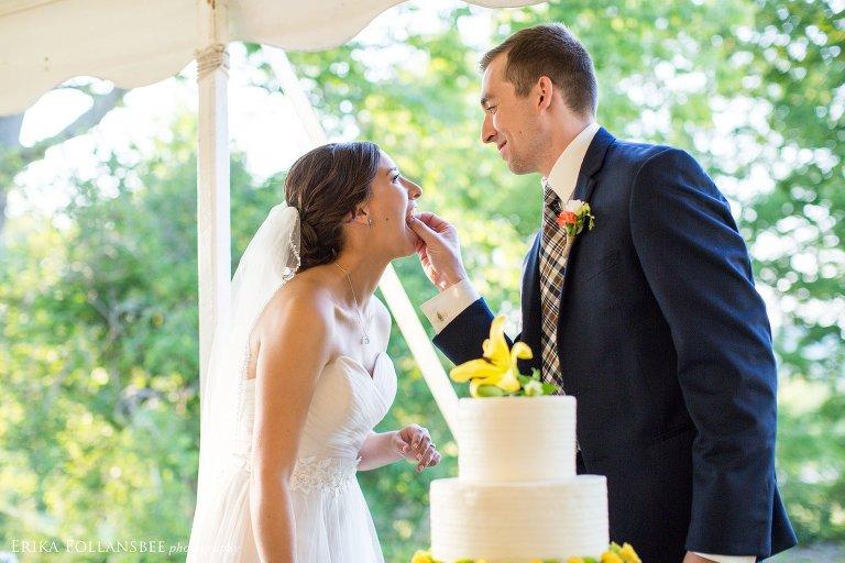NH White Mountains wedding at The Rocks Estate