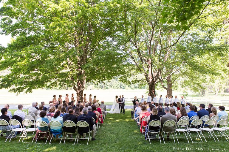 Quechee Inn At Marshland Farm Wedding Quechee VT Erika