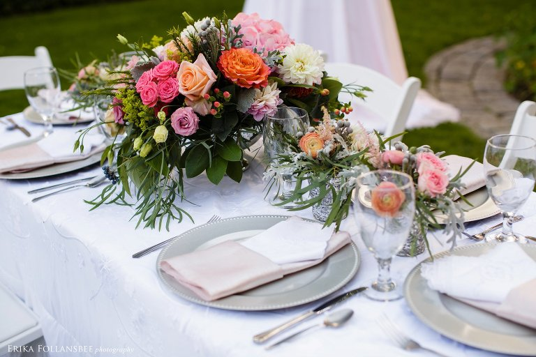Garden Wedding Styled Shoot for Lakes Region Bride