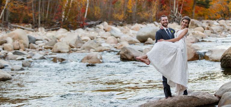 Loon Mt. Wedding in the fall
