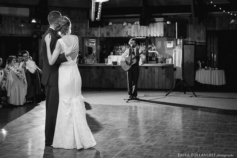 Surprise wedding song from groomsman   Loon Mt. Wedding
