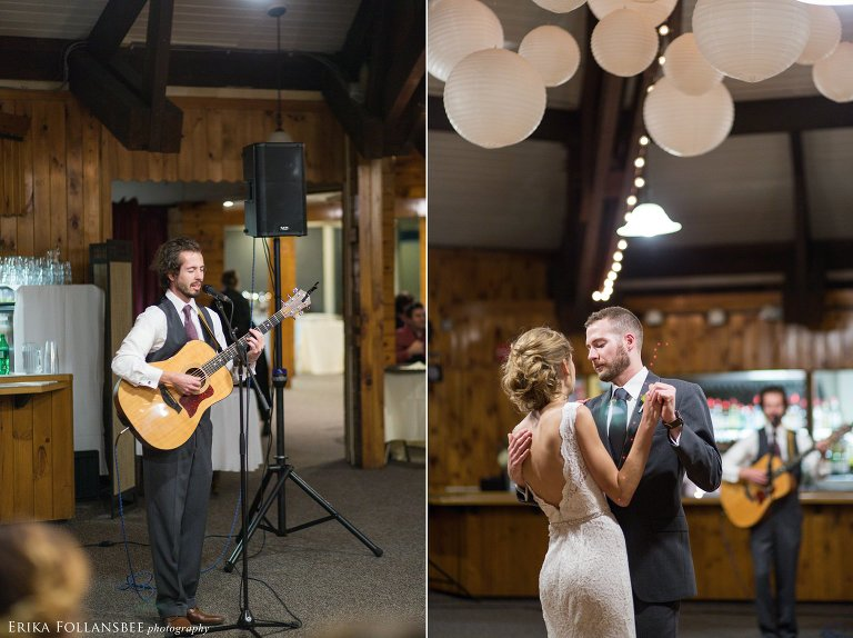Surprise wedding song from groomsman | Loon Mt. Wedding