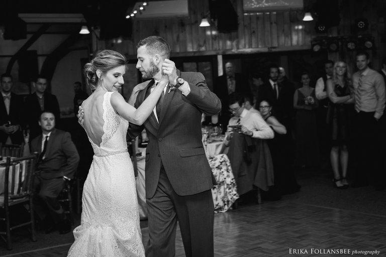First dance at Loon Mt. Wedding | Lauren and Joseph