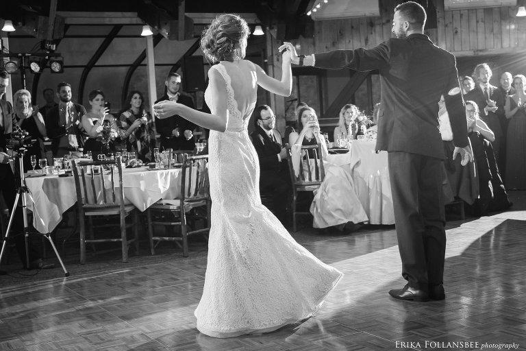 First dance at Loon Mt. Wedding   Lauren and Joseph