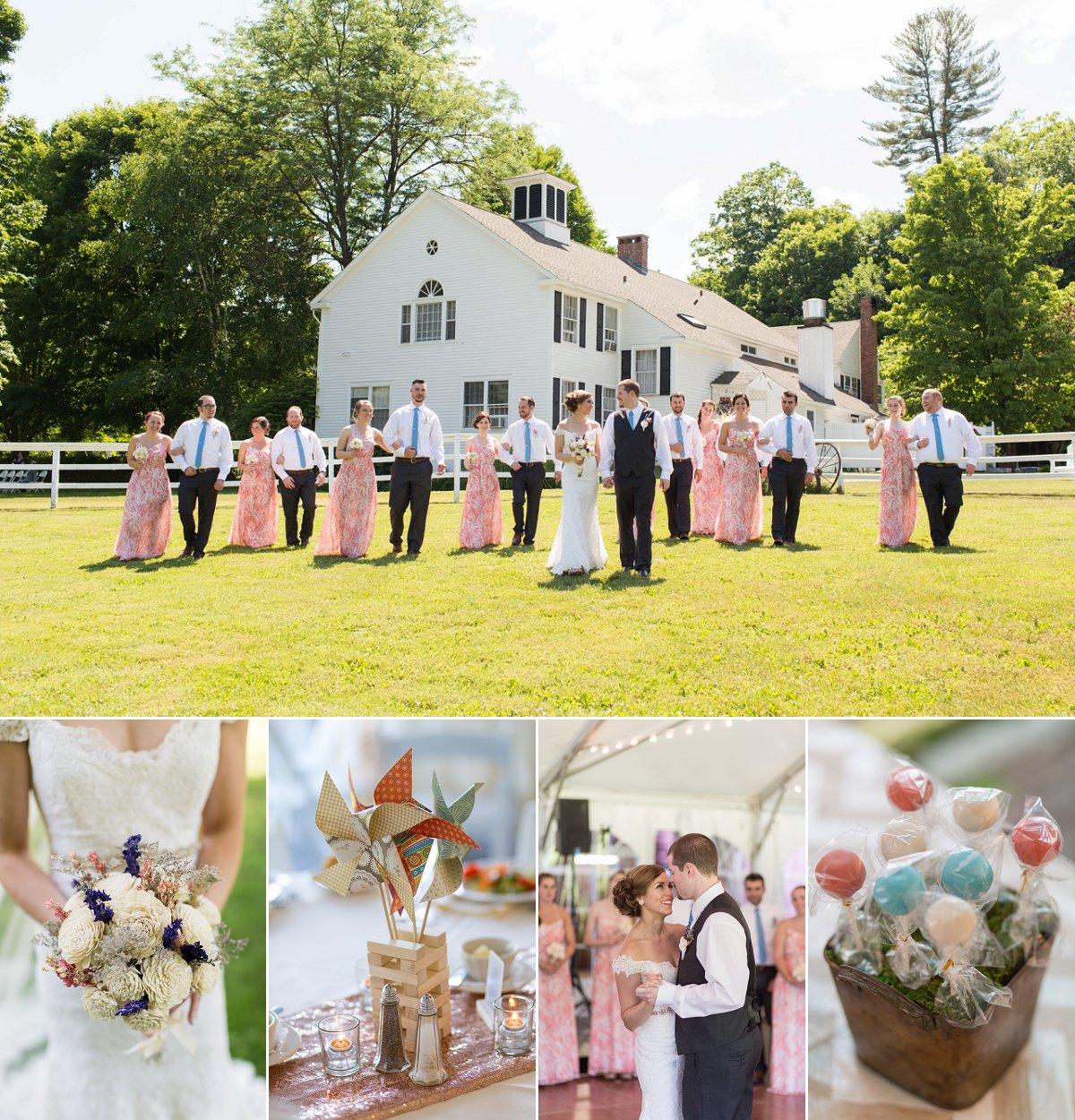 Vermont Wedding At The Quechee Inn Marshland Farm