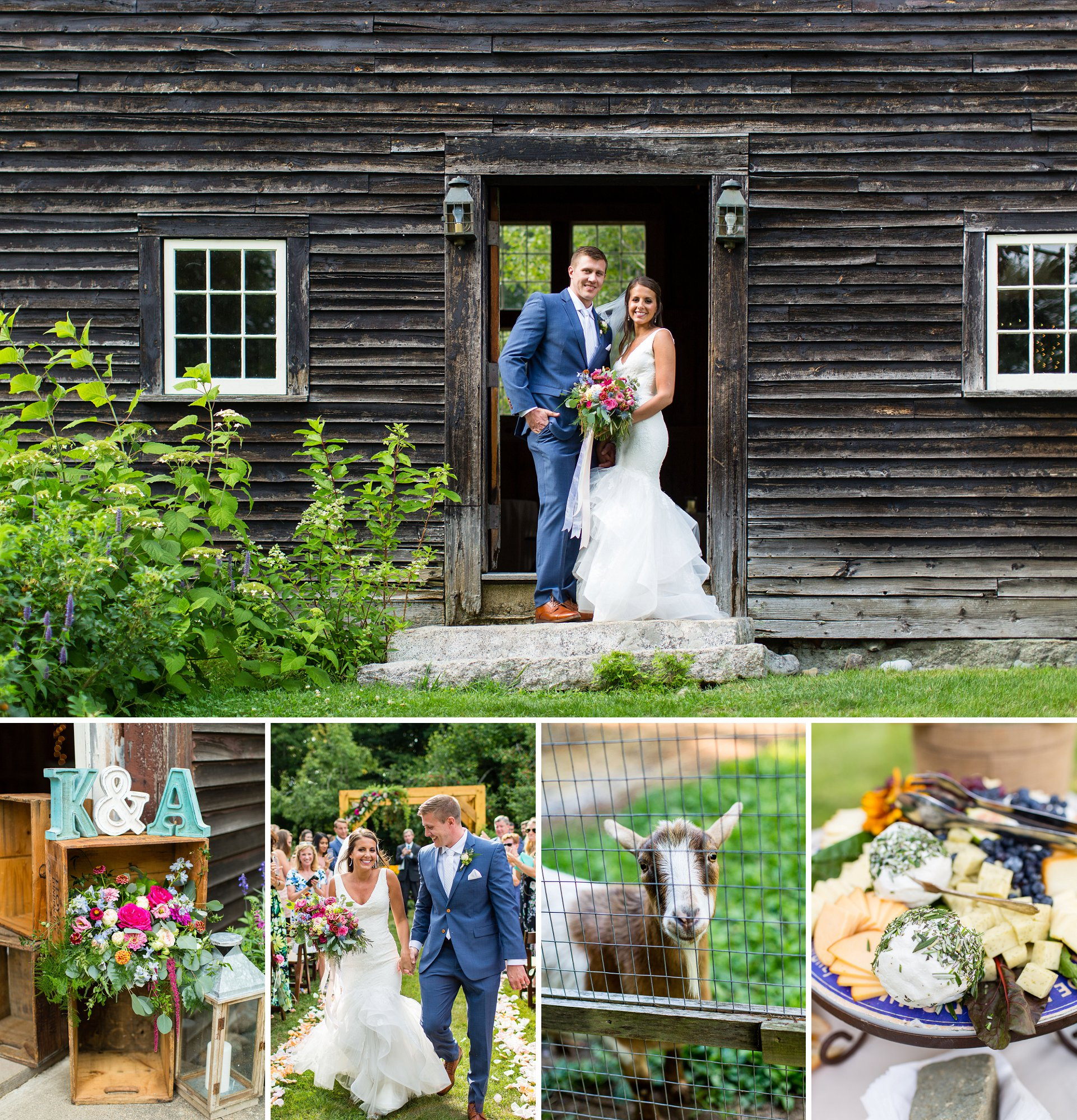 Josias River Farm Wedding In Maine Nh Wedding Photographer